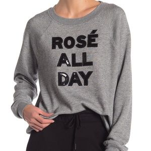 Betsey Johnson  Rose All Day Sequin Pullover